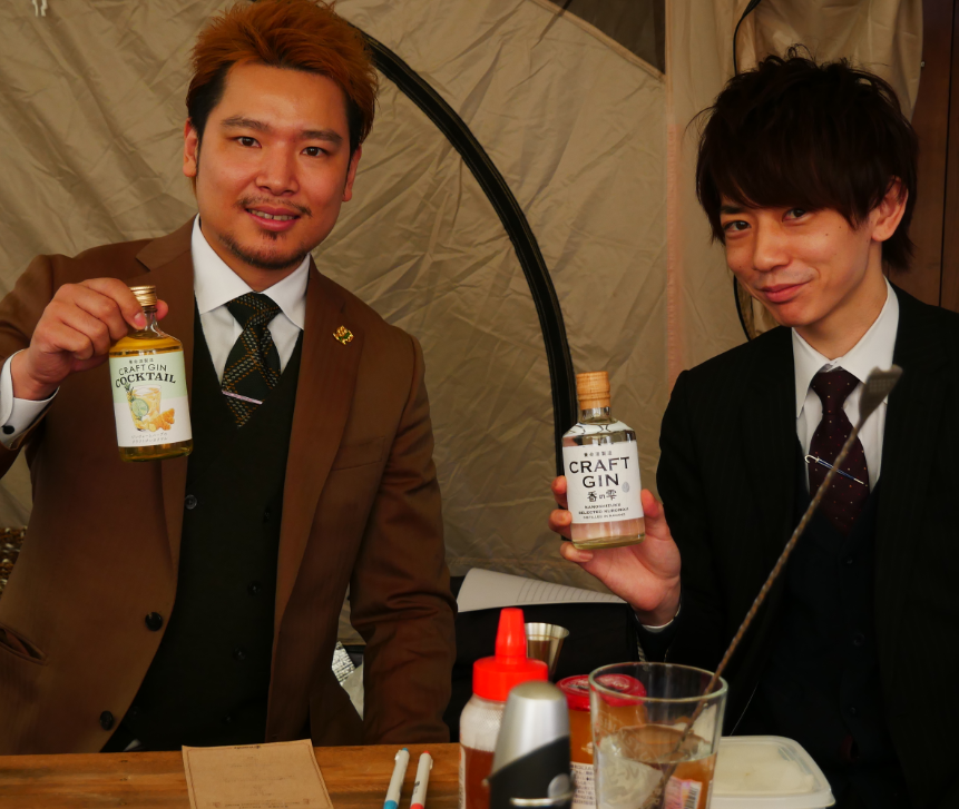 静谷和典さん、小倉友翔さん
