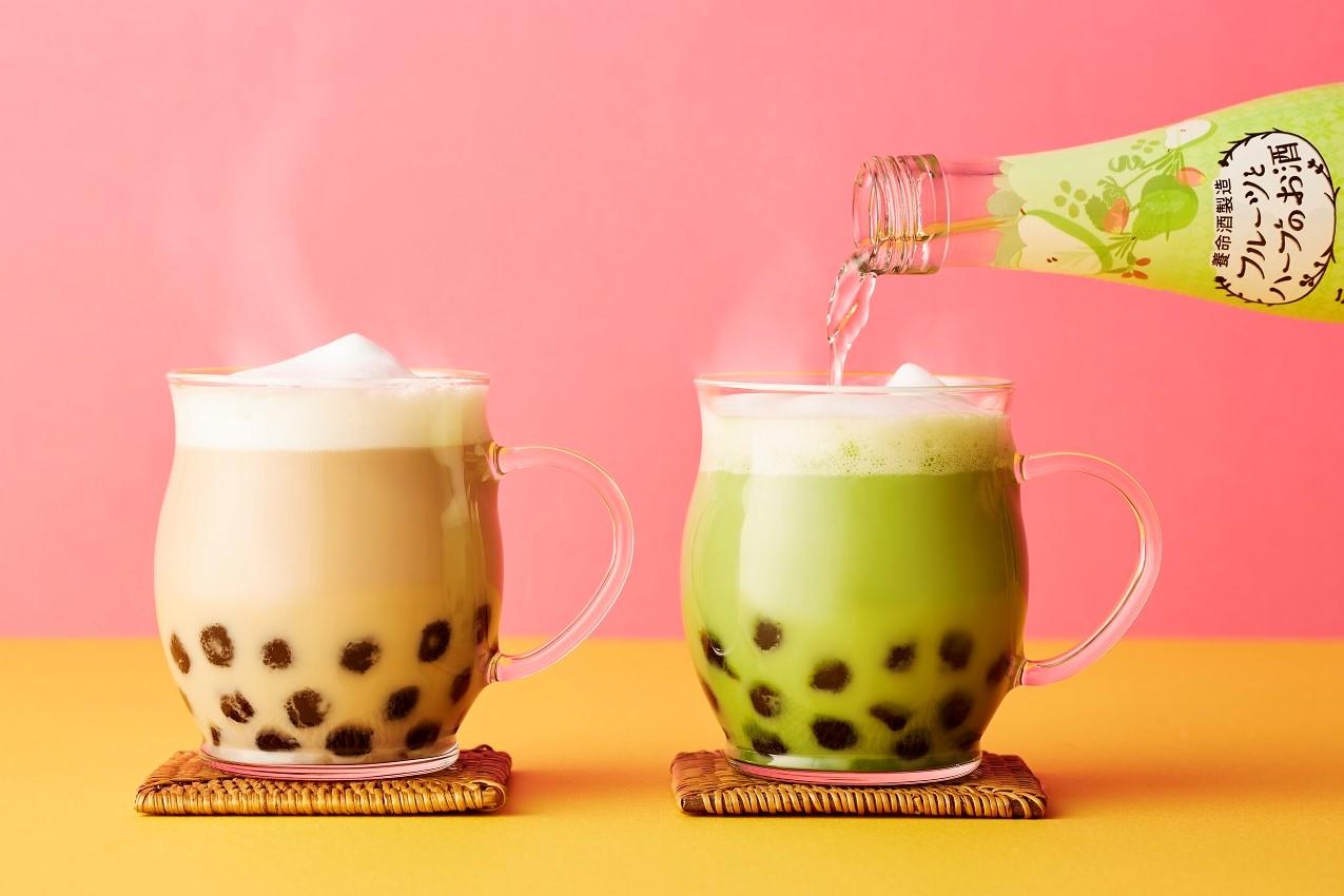 「フルーツとハーブのお酒」×お茶×タピオカで、手づくりホットカクテル一覧画像