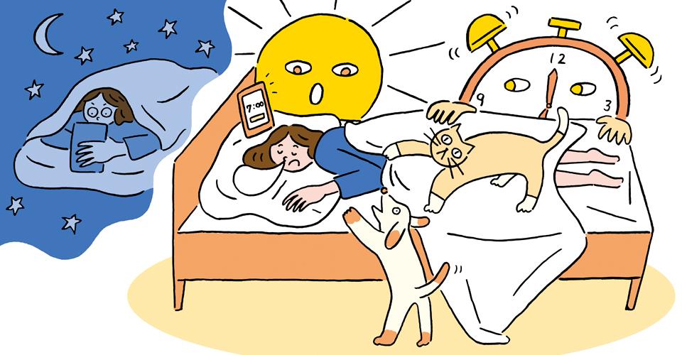 大人の「朝起きられない」は病気?概日リズム障害と対策法