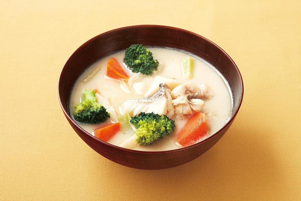 タラと冬野菜の和風シチュー