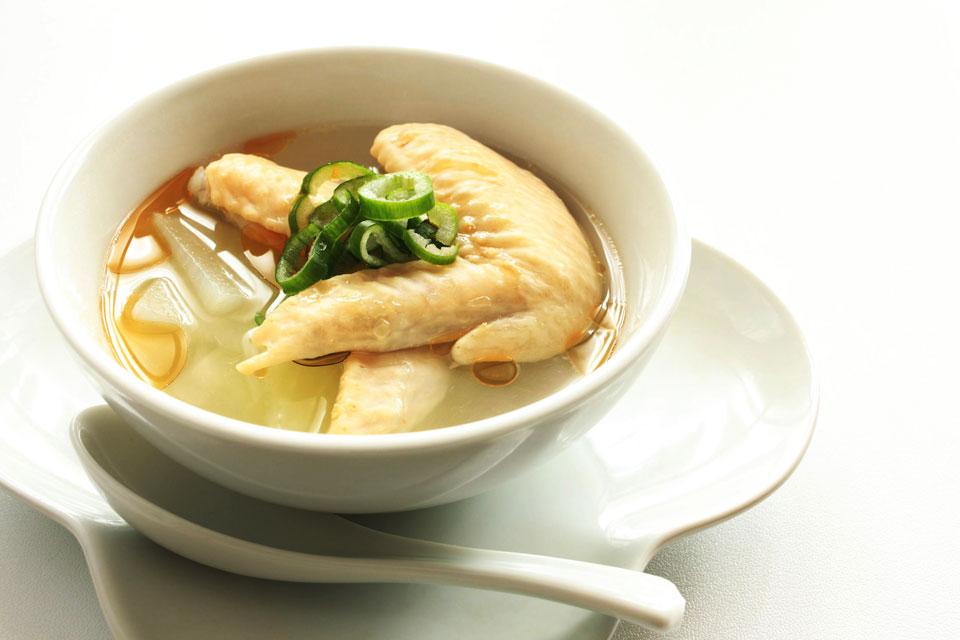 中華風鶏スープ