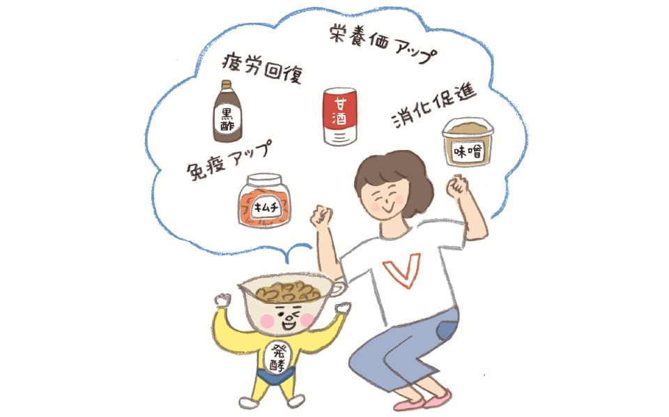 発酵についてのイメージ