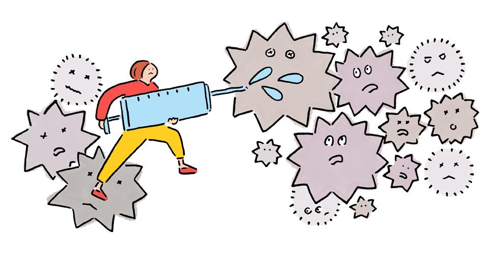 インフルエンザ、予防接種の効果は? ワクチンの発症予防率と持続期間