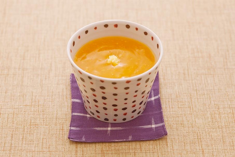 みかんと生姜の葛湯