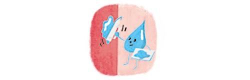 粘膜を保護するイメージ