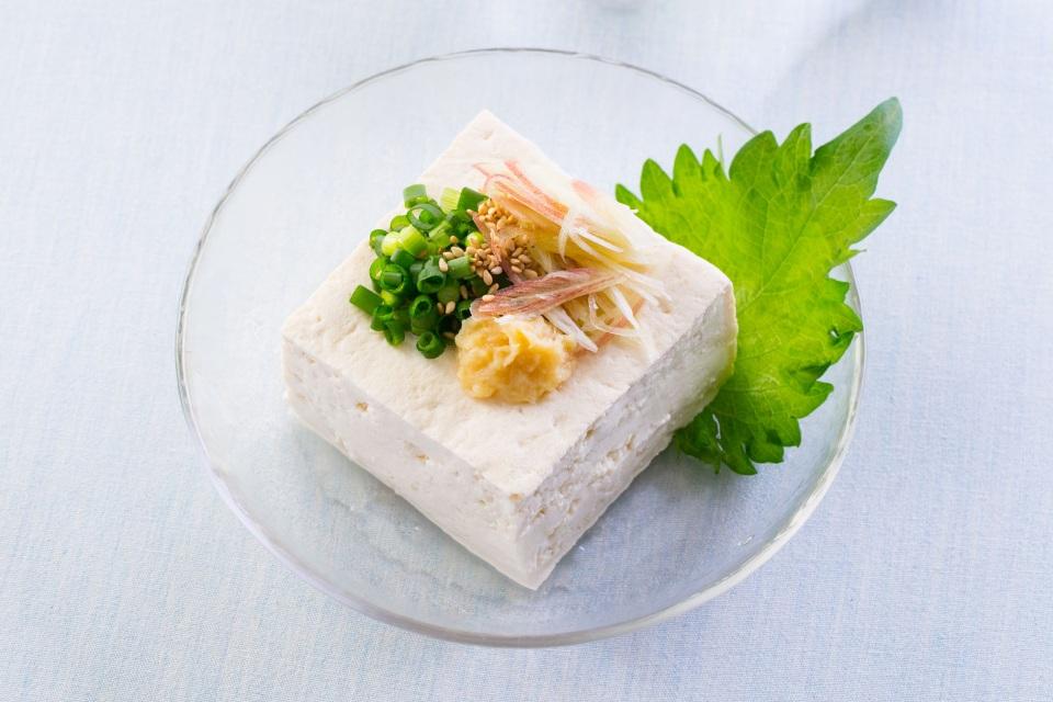 豆腐と薬味