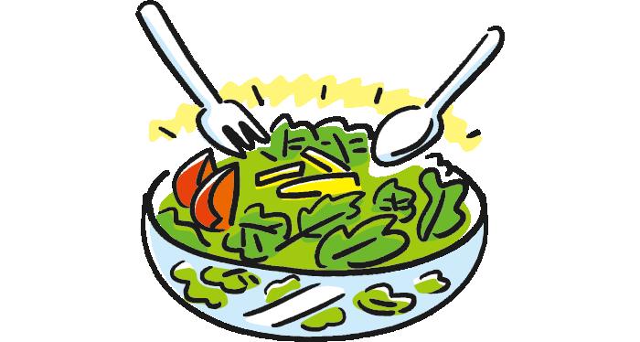 カラフルな野菜のイラスト