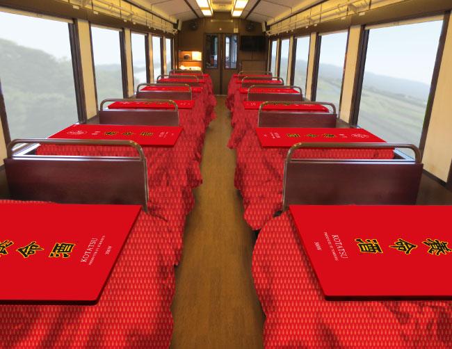 三陸鉄道北リアス線「こたつ列車」